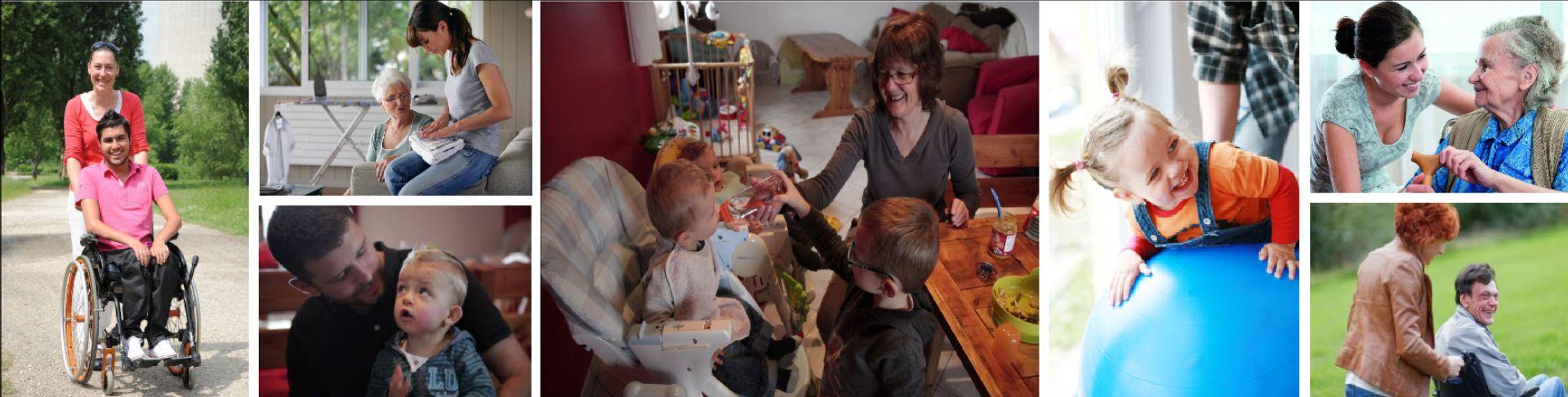ADMR : Garde d'enfants, aide aux séniors, ménage repassage ...